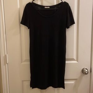 Black loose dress